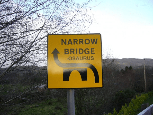 Ireland's funniest road signs 2